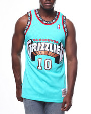 Mitchell & Ness - VANCOUVER GRIZZLIES  Swingman Jersey - Mike Bibby #10-2247349