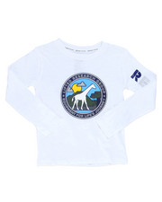 Boys - Giraffe Line Long Sleeve Tee (4-7)-2246059
