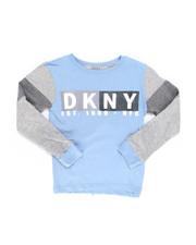 DKNY Jeans - Long Sleeve DKNY Basic Tee (4-7)-2246209