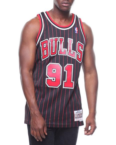 2d2b61f6891 Buy CHICAGO BULLS Swingman Jersey - Dennis Rodman #91 Men's Shirts ...