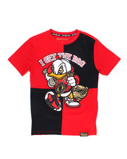 SWITCH - Color Block Graphic Tee w/Embroidery (8-20)-2245975