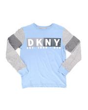 DKNY Jeans - Long Sleeve DKNY Basic Tee (8-20)-2246238