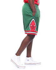 Mitchell & Ness - 2008 - 09 Chicago Bulls Green Week Swingman Shorts-2247400
