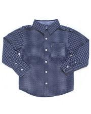 Boys - Printed Woven Shirt (4-7)-2246577