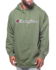Champion - P/O Script Printed Logo Hoodie (B&T)-2247818