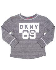 Sizes 2T-4T - Toddler - DKNY Long Sleeve Art Tee (2T-4T)-2246616