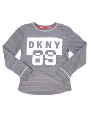 DKNY Jeans - DKNY Long Sleeve Art Tee (8-20)-2246620