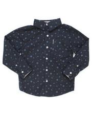Boys - Printed Woven Shirt (4-7)-2246592