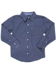 Boys - Printed Woven Shirt (8-18)-2246582