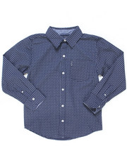 Button-downs - Printed Woven Shirt (8-18)-2246582