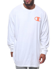 Champion - L/S Logo Tee (B&T)-2247101