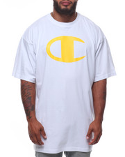 Champion - S/S Large Chest Logo Tee (B&T)-2246900
