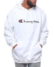 Champion - P/O Script Printed Logo Hoodie (B&T)-2247801