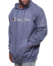 Champion - P/O Script Printed Logo Hoodie (B&T)-2247876