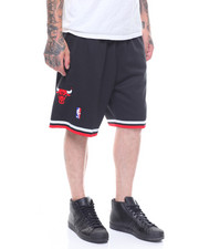 Mitchell & Ness - 1997 - 98 Chicago Bulls Alternate Swingman Shorts-2248249