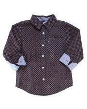 Boys - Printed Woven Shirt (4-7)-2247053