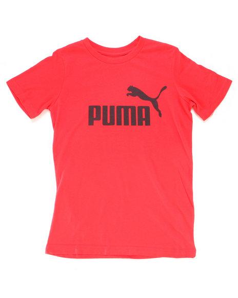 Puma - Puma Cat Graphic Tee (8-20)