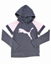 Puma - Jersey Color Block Pullover Hoodie (7-16)-2247139