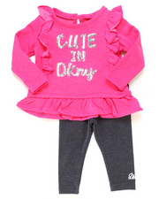Infant & Newborn - 2 Piece Ruffle Top & Legging Set (Infant)-2247040
