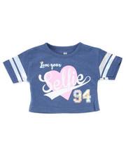 Sizes 2T-4T - Toddler - Crop Top w/Foil Stripes (2T-4T)-2246977