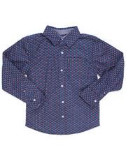 Boys - Printed Woven Shirt (8-18)-2246607