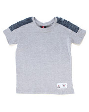 Southpole - Denim Trimmed Tee (4-7)-2247238