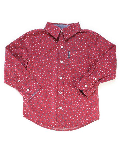 Ben Sherman - Printed Woven Shirt (4-7)