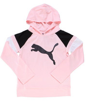 Puma - Jersey Color Block Pullover Hoodie (7-16)-2247164