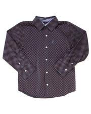 Boys - Printed Woven Shirt (8-18)-2246602