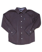 Button-downs - Printed Woven Shirt (8-18)-2246602