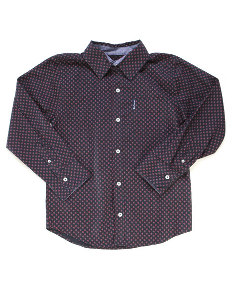 Ben Sherman - Printed Woven Shirt (8-18)