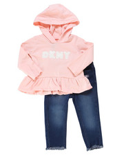 Infant & Newborn - 2 Piece Hooded Top & Jegging Set (Infant)-2247359