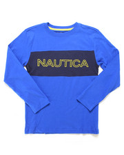 Nautica - Color Block Long Sleeve Tee (8-20)-2247534