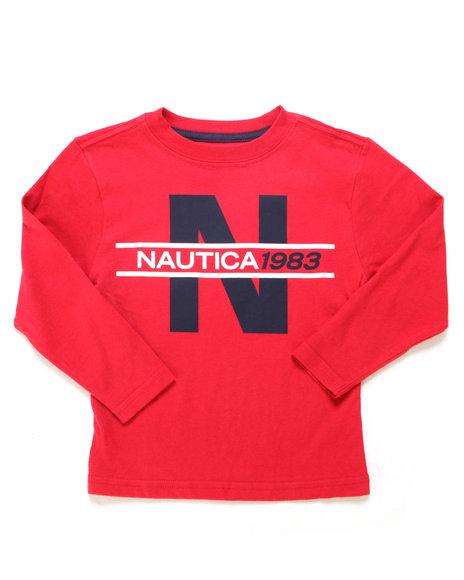 Nautica - 1983 Graphic Long Sleeve Tee (2T-4T)