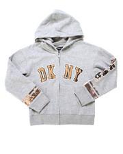 Girls - DKNY Sequin Hoodie (7-16)-2247664