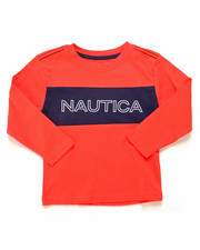 Nautica - Color Block Long Sleeve Tee (2T-4T)-2247544