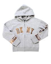 Girls - DKNY Sequin Hoodie (4-6X)-2247654