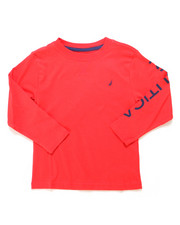 Nautica - Solid Long Sleeve T-Shirt (4-7)-2247494