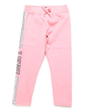 Sweatpants - DKNY Glitter Sweatpants (4-6X)-2247562