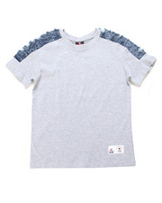 Southpole - Denim Trimmed Tee (8-20)-2247624