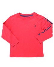 Nautica - Solid Long Sleeve T-Shirt (2T-4T)-2247504