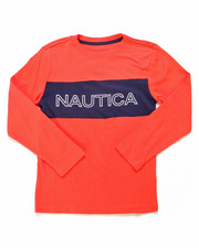Nautica - Color Block Long Sleeve Tee (8-20)-2247548
