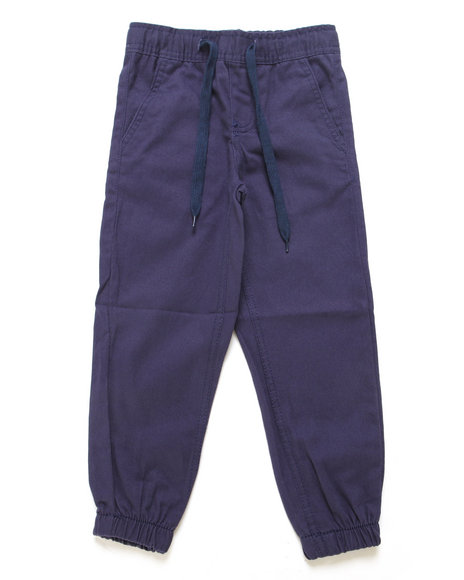 Arcade Styles - Twill Fashion Jogger Pants (4-7)
