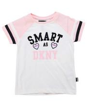 Girls - Smart DKNY Tee (4-6X)-2247733