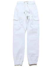 Pants - Stretch Cargo Twill Joggers (8-20)-2247567