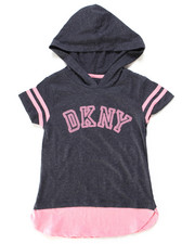 Tops - DKNY Hooded Tee (7-16)-2247728