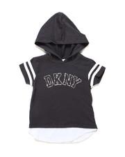 Hoodies - DKNY Hooded Tee (2T-4T)-2247719