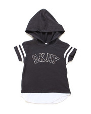 Girls - DKNY Hooded Tee (2T-4T)-2247719