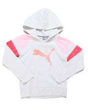 Puma - Jersey Color Block Pullover Hoodie (4-6X)-2247406