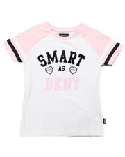 Girls - Smart DKNY Tee (7-16)-2247738